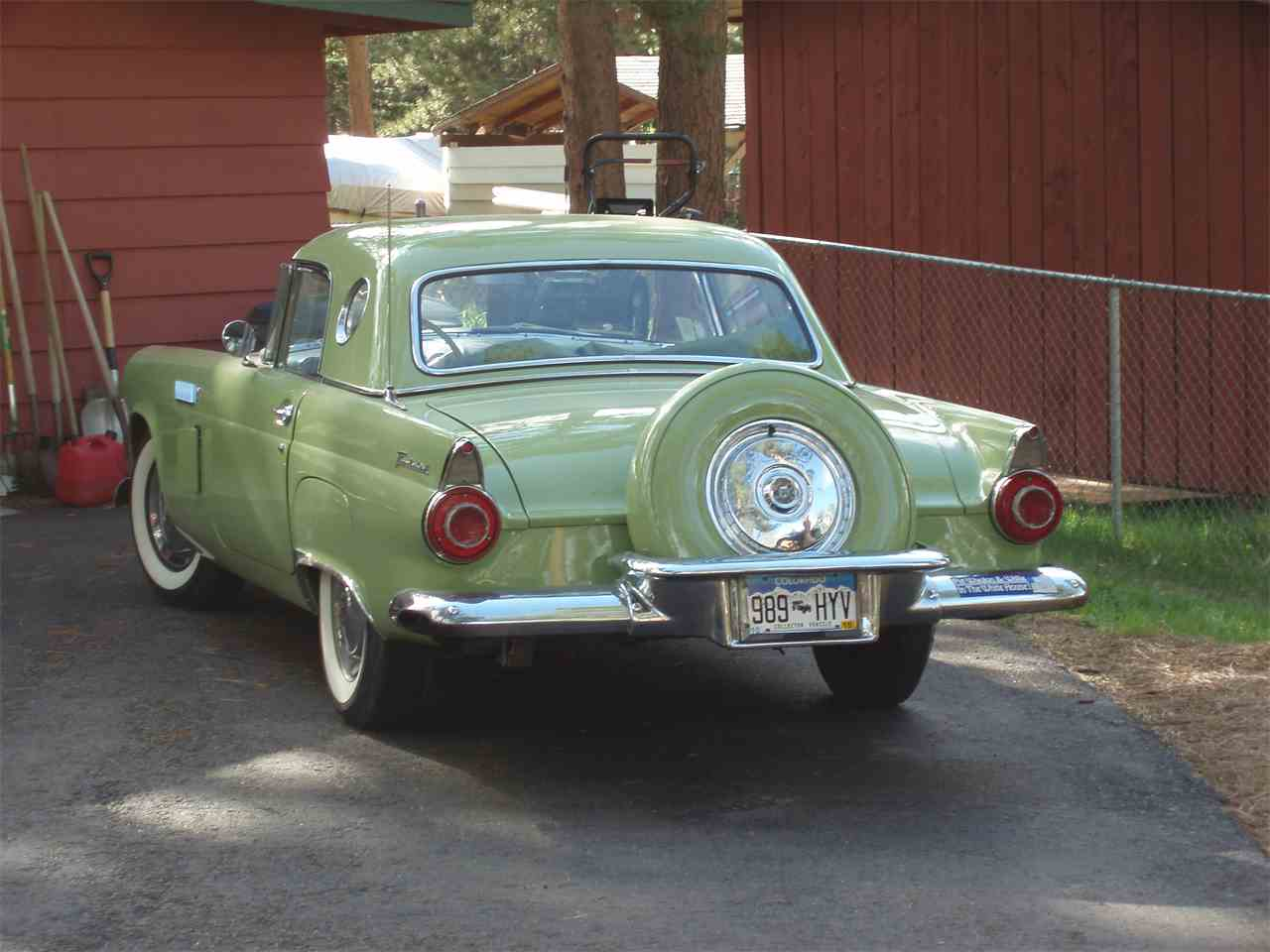 Large Picture of '56 Thunderbird - IKJ4