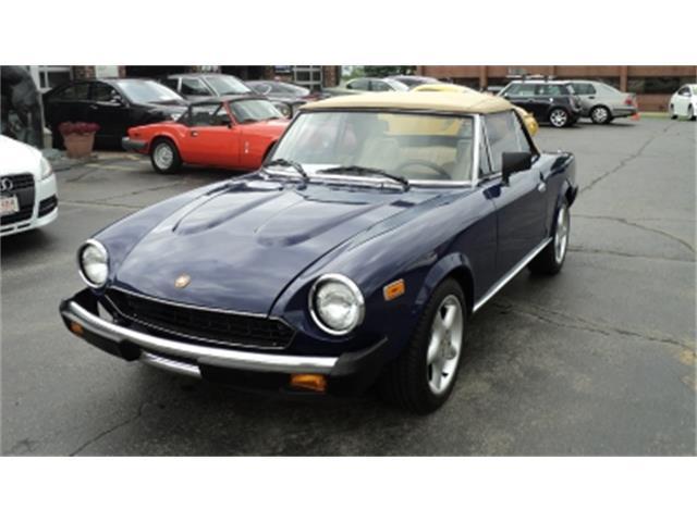 1981 Fiat Spider | 866492