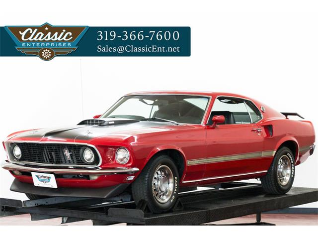 1969 Ford Mustang Mach 1 | 866601