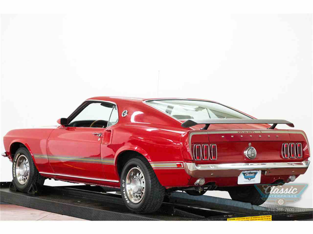 1969 ford mustang mach 1 for sale cc 866601. Black Bedroom Furniture Sets. Home Design Ideas
