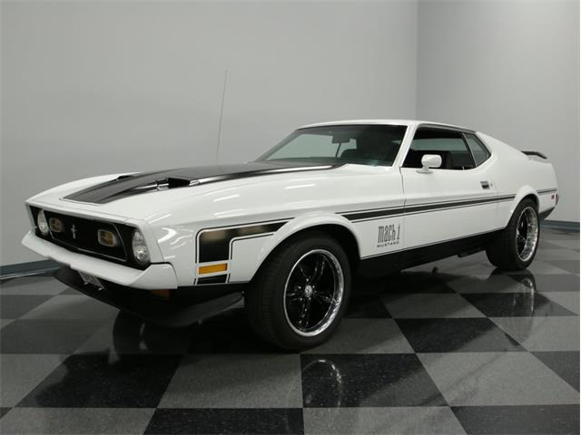 1971 Ford Mustang Mach 1 | 866611