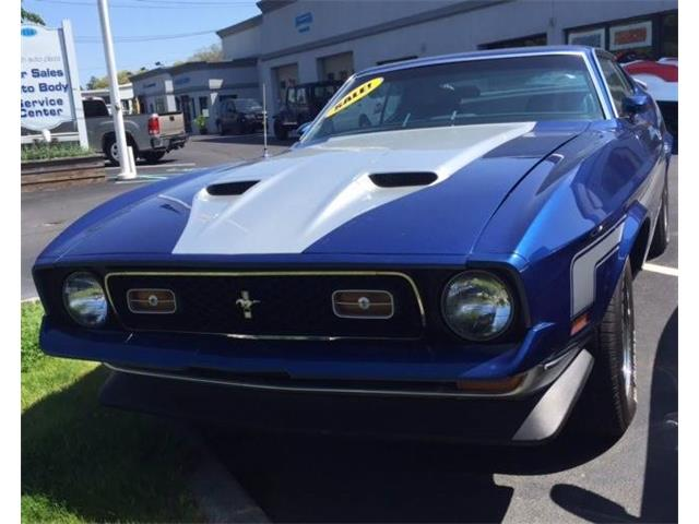 1971 Ford Mustang Mach 1 | 867537