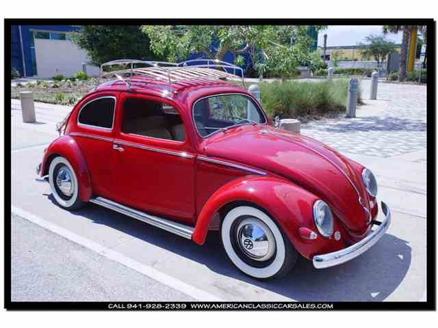 Picture of 1955 Volkswagen Beetle located in Sarasota Florida Offered by American Classic Car Sales - ILOW