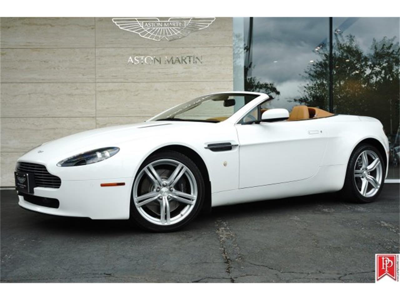 2009 aston martin v8 vantage roadster for sale cc 868908. Black Bedroom Furniture Sets. Home Design Ideas