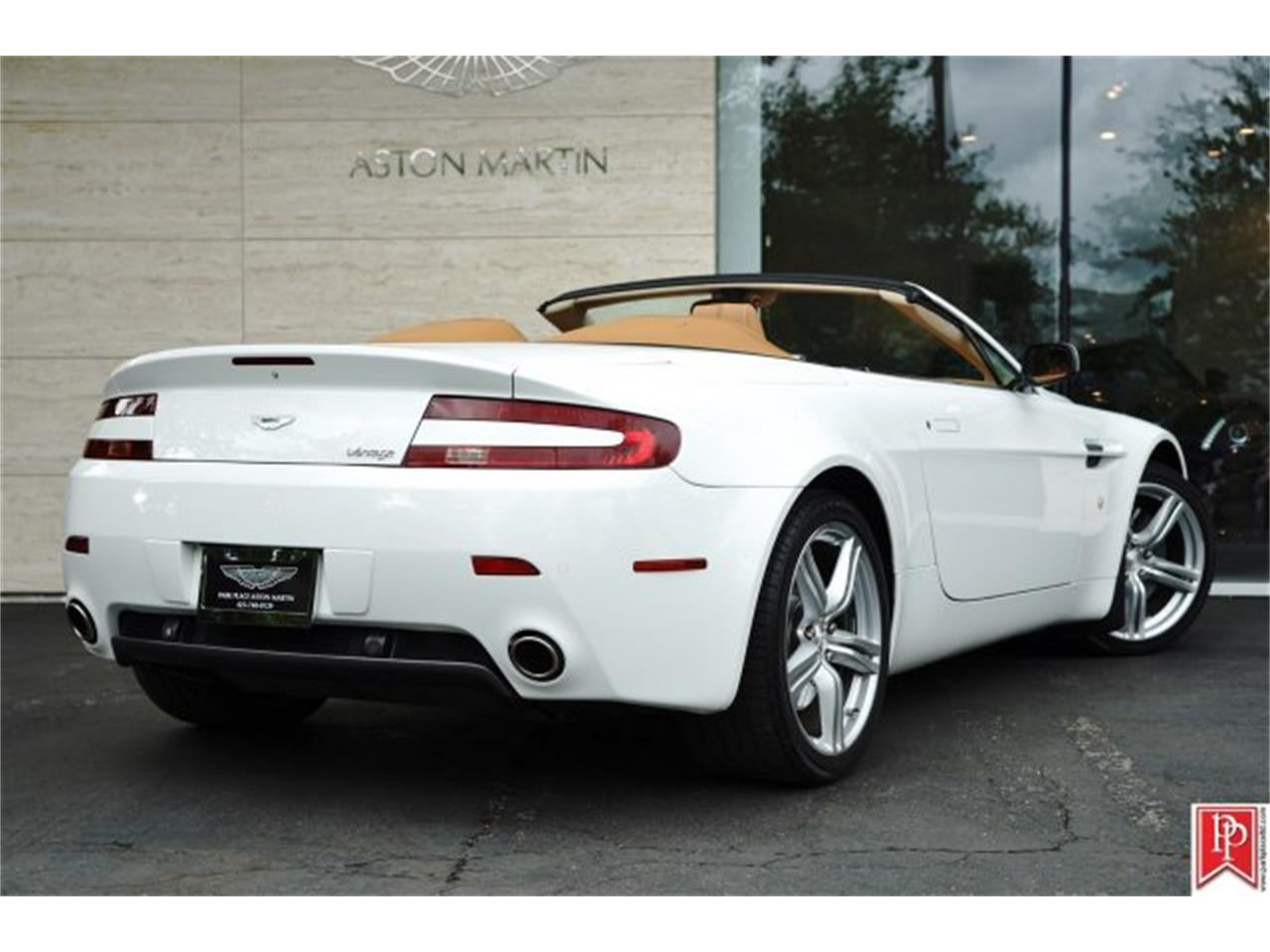 2009 aston martin v8 vantage roadster for sale cc 868908. Black Bedroom Furniture Sets. Home Design Ideas