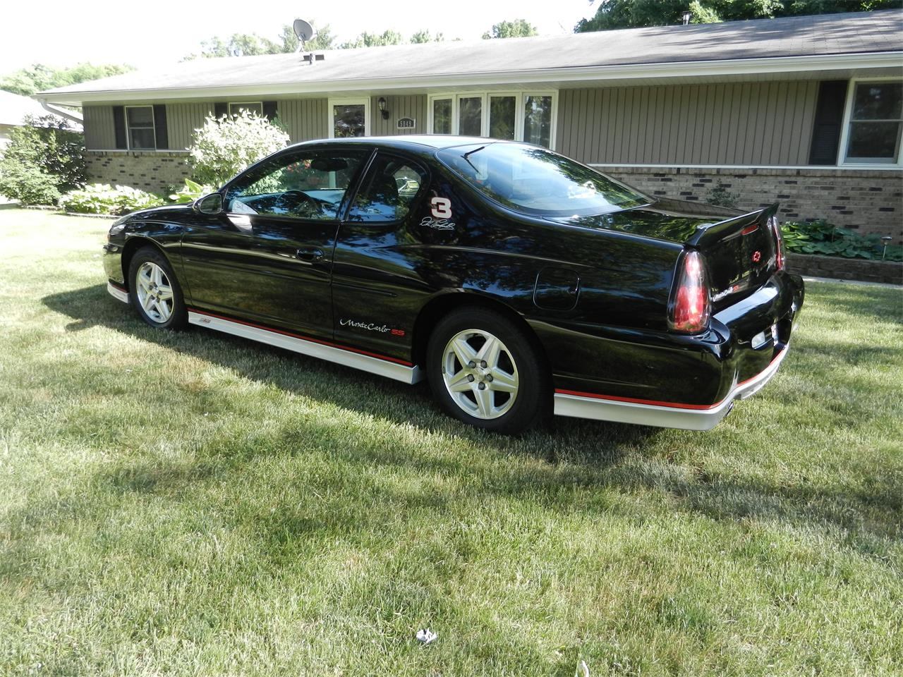 2002 chevrolet monte carlo ss for sale cc 871224. Black Bedroom Furniture Sets. Home Design Ideas