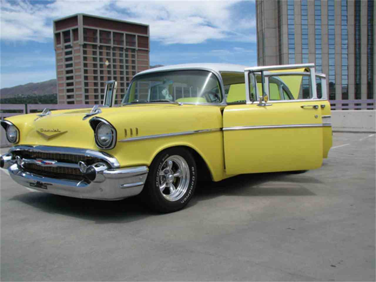 1957 chevrolet bel air for sale cc 871231. Black Bedroom Furniture Sets. Home Design Ideas