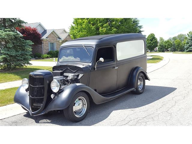 Old Ford Panels : Classic ford panel truck for sale on classiccars
