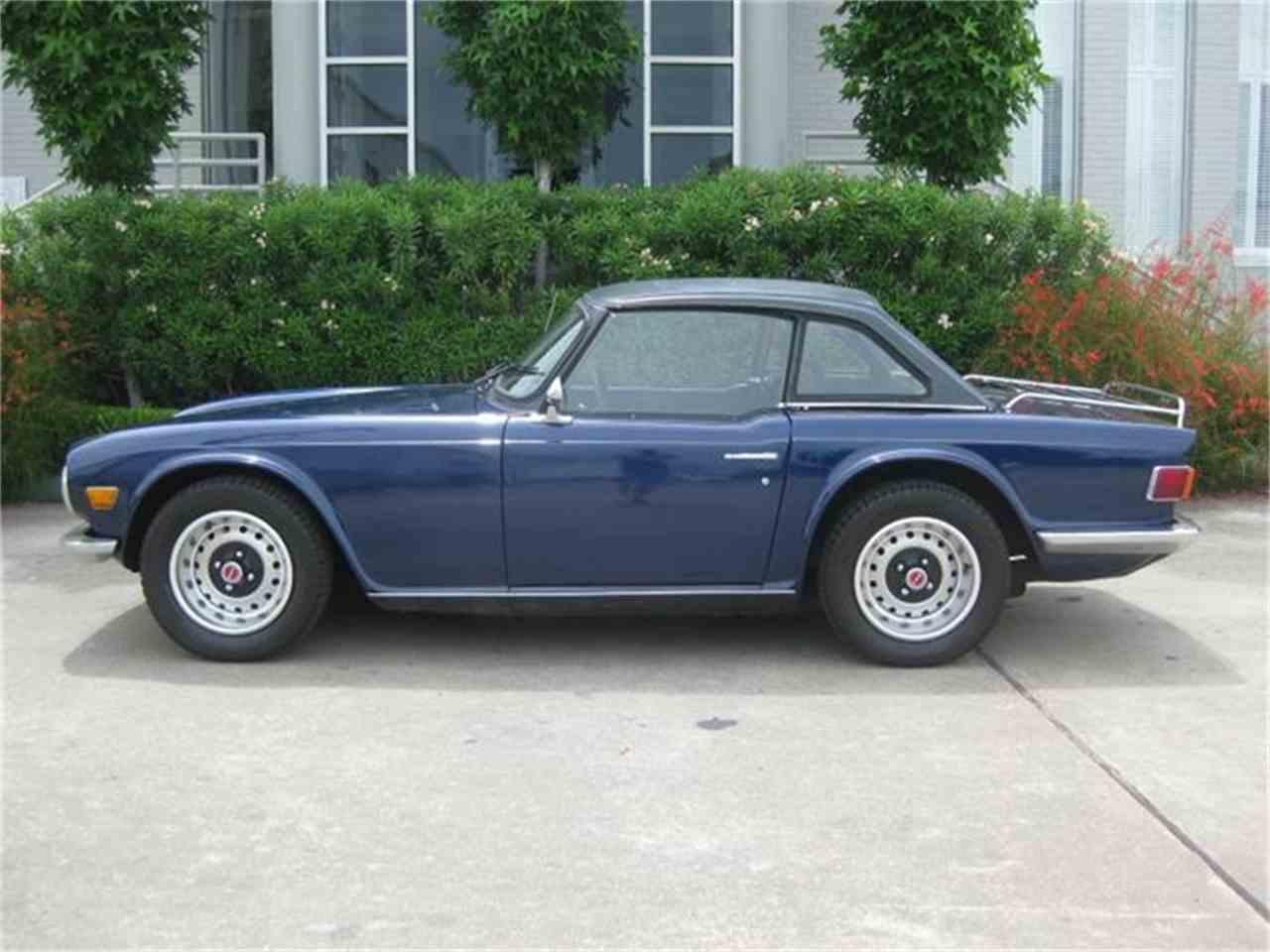 Classic Cars For Sale Houston Area: 1970 Triumph TR6 For Sale