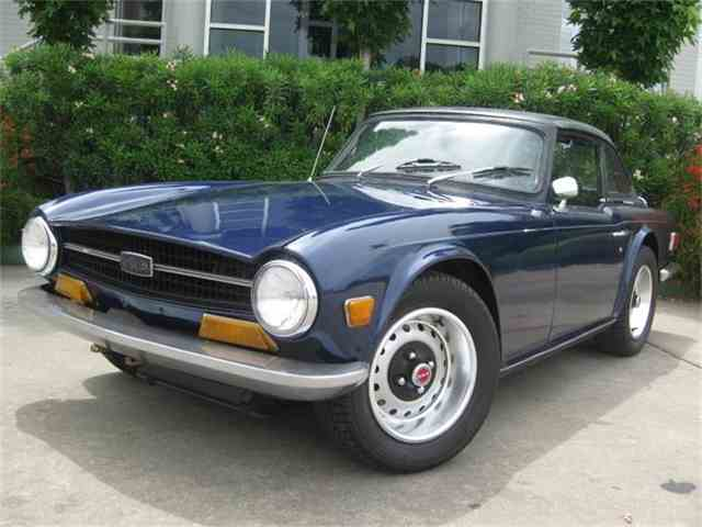 Picture of '70 TR6 - IQ58