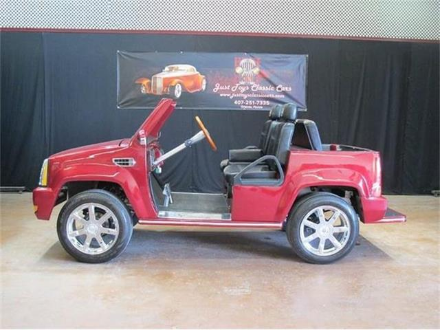 2013 American Custom Golf Cart Cadillac Escalade | 873746