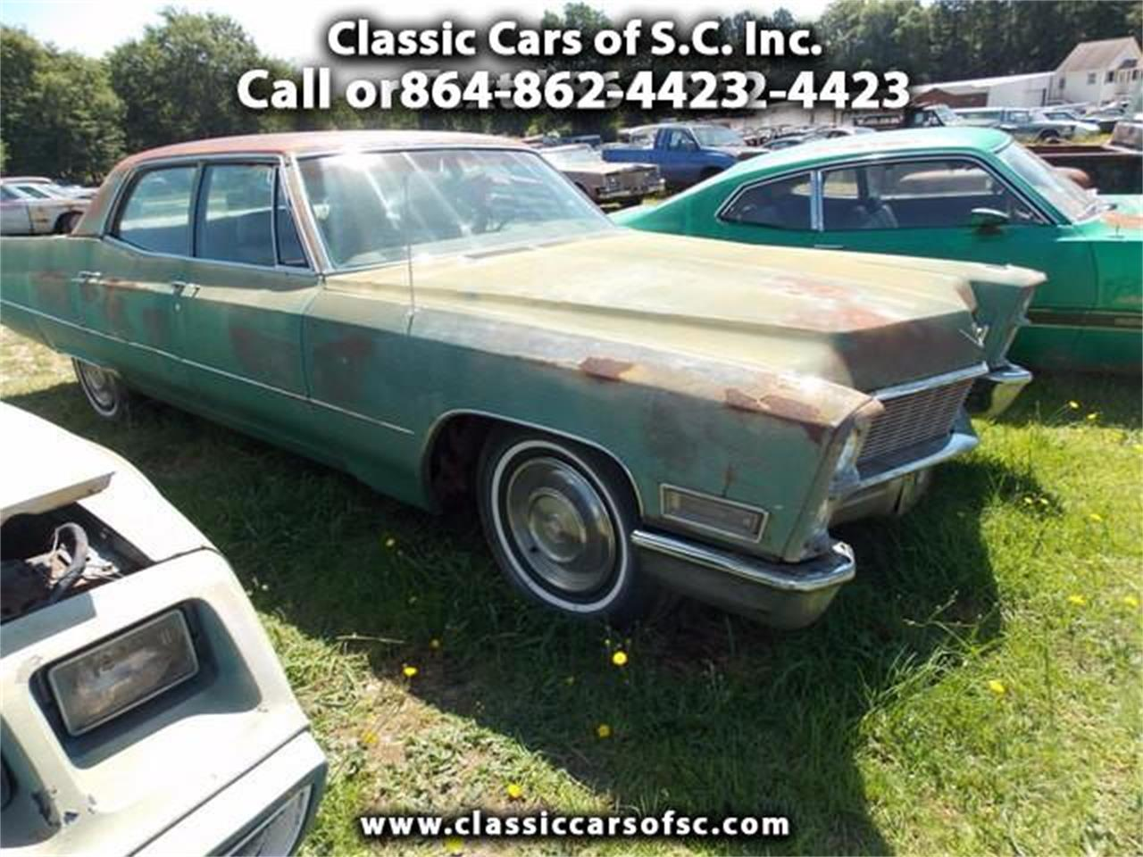1968 cadillac sedan for sale cc 873986. Black Bedroom Furniture Sets. Home Design Ideas