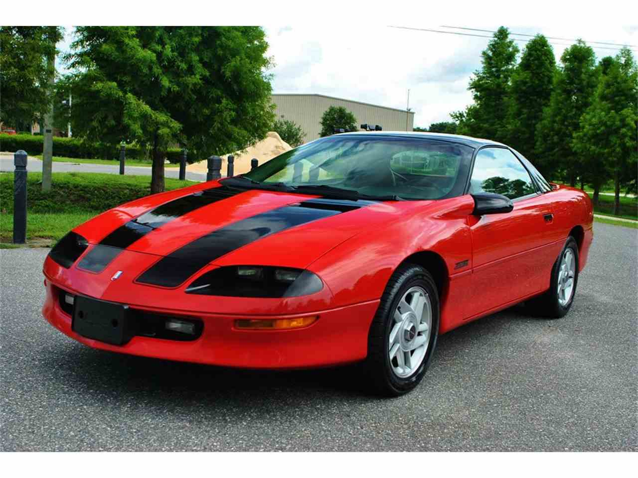 1995 chevrolet camaro z28 for sale cc 870047. Black Bedroom Furniture Sets. Home Design Ideas
