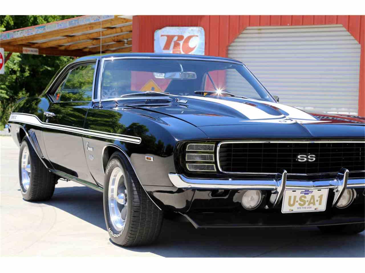 1969 Chevrolet Camaro Rs For Sale Classiccars Com Cc