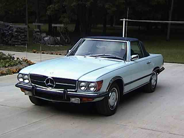 1972 mercedes benz 350sl for sale on. Black Bedroom Furniture Sets. Home Design Ideas