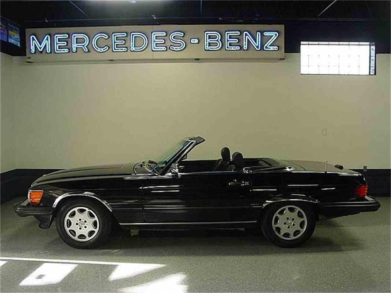 1989 mercedes benz 560sl for sale cc 875461. Black Bedroom Furniture Sets. Home Design Ideas