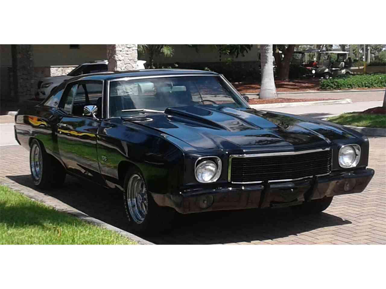 87 Monte Carlo Ss Black >> 1970 Chevrolet Monte Carlo SS for Sale | ClassicCars.com | CC-875478