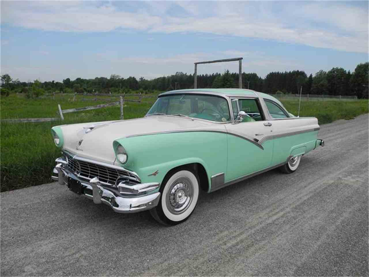 1956 ford fairlane crown victoria for sale classiccars. Black Bedroom Furniture Sets. Home Design Ideas