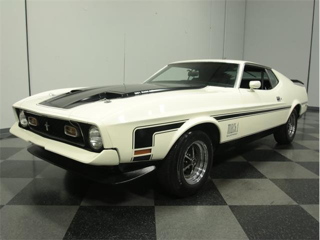 1972 Ford Mustang Mach 1 | 875817