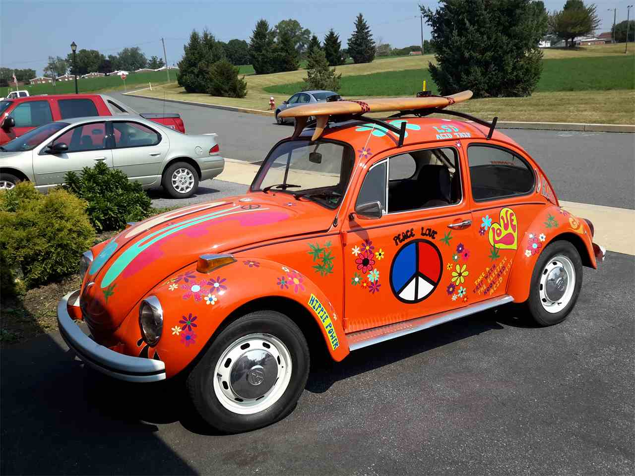 1971 volkswagen super beetle for sale cc 876040. Black Bedroom Furniture Sets. Home Design Ideas