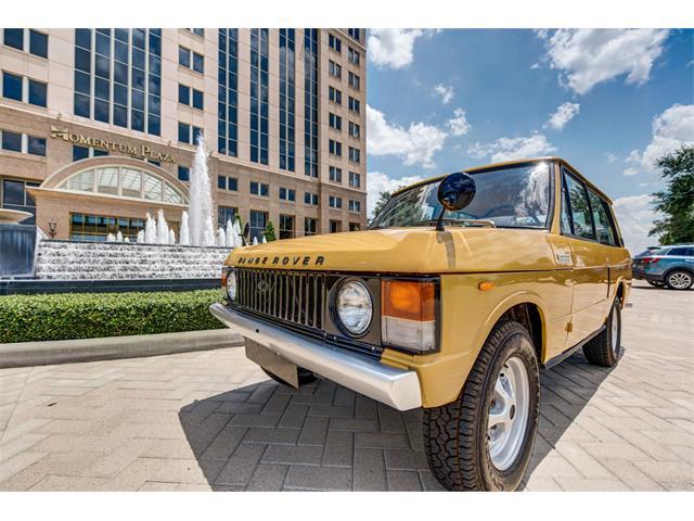 1978 Land Rover Range Rover | 876066