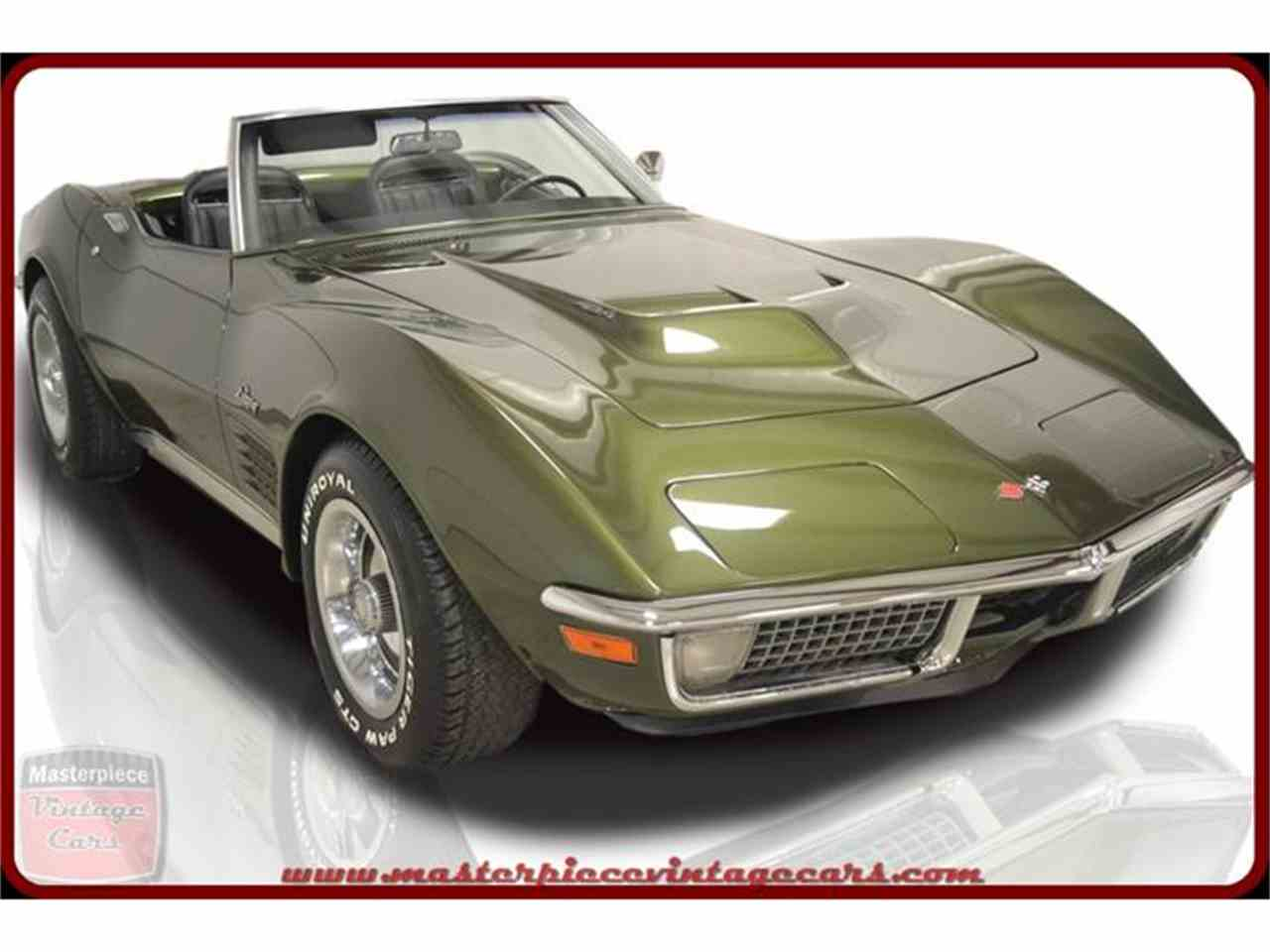 1970 Chevrolet Corvette Stingray for Sale - CC-876070