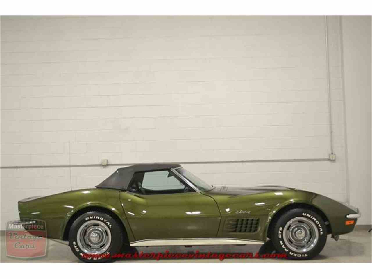Large Picture of Classic '70 Chevrolet Corvette Stingray located in Indiana - $59,900.00 Offered by Masterpiece Vintage Cars - IRZA