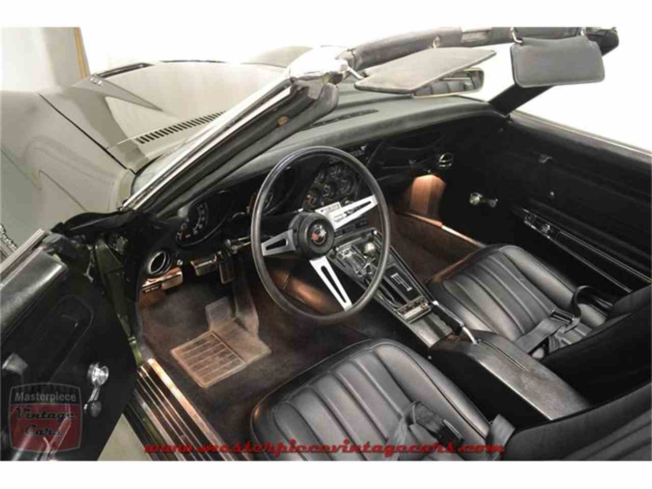 Large Picture of 1970 Chevrolet Corvette Stingray located in Indiana Offered by Masterpiece Vintage Cars - IRZA