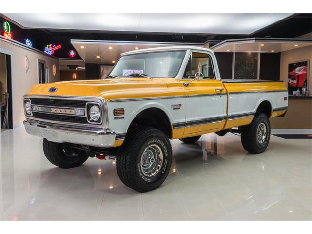 1970 Chevrolet K-10 Cheyenne 4x4 Pickup | 876226