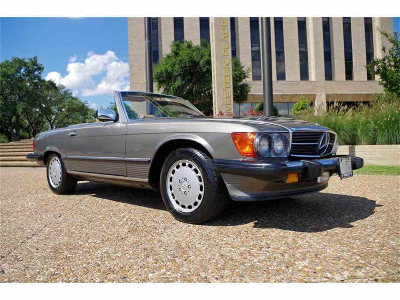 1988 mercedes benz 560 for sale cc 876266 for Mercedes benz ft worth