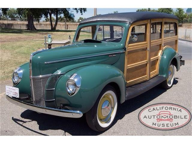 1940 Ford Woody Wagon | 876407