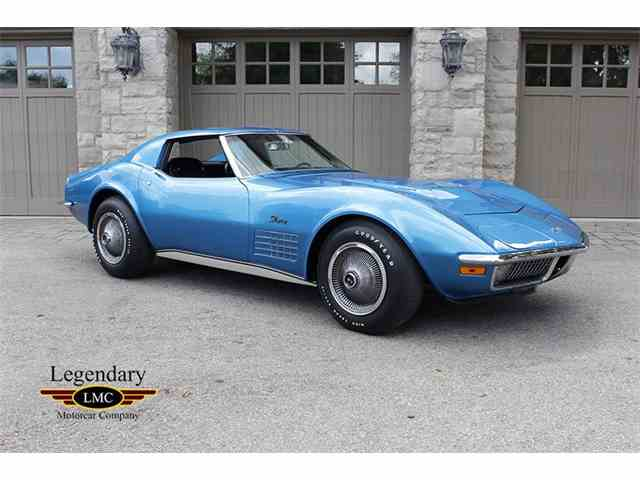 1970 to 1972 chevrolet corvette stingray for sale on 5 available. Black Bedroom Furniture Sets. Home Design Ideas
