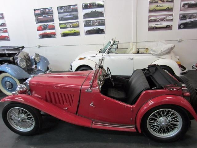 1949 MG T-SeriesTC ROADSTER | 876565