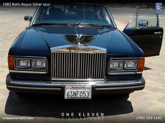 1982 Rolls-Royce Silver Spur | 876605