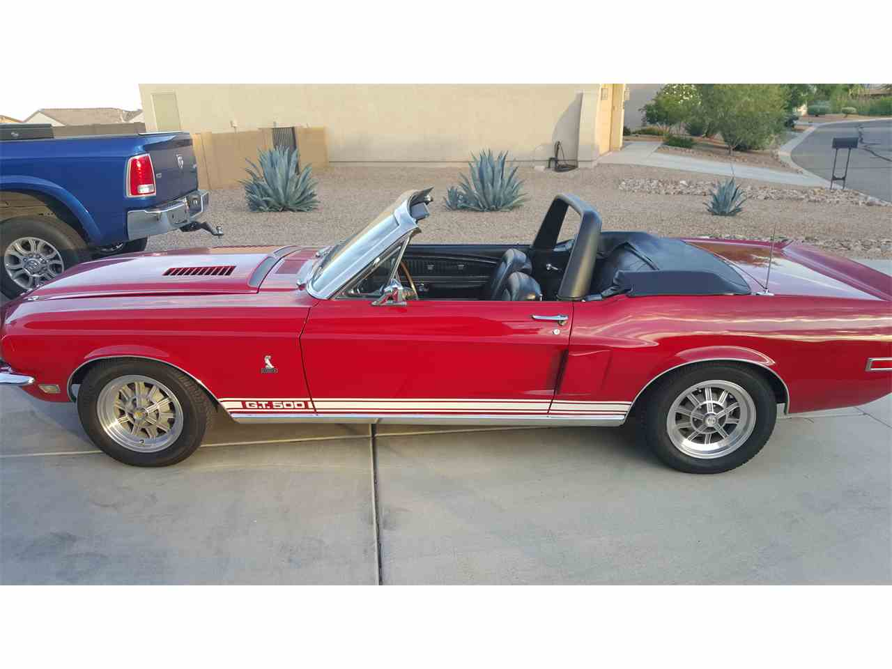 1968 ford mustang shelby gt500 for sale cc 877085. Black Bedroom Furniture Sets. Home Design Ideas