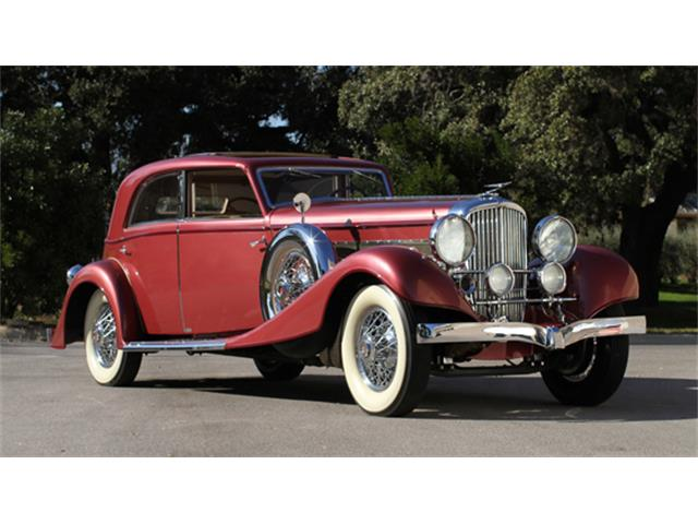 1933 Duesenberg Model J Sunroof Berline by Franay | 877097
