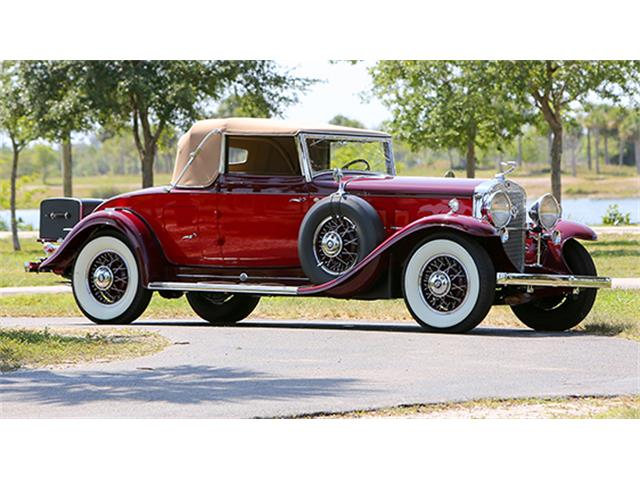 1931 Cadillac V-12 Convertible Coupe by Fleetwood | 877099