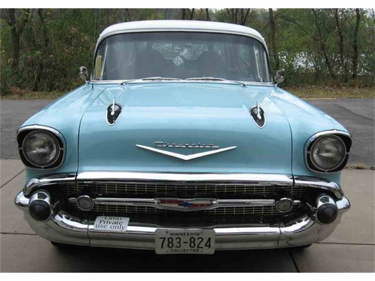 All Chevy 1957 chevy wagon for sale : 1957 Chevrolet Custom Wagon for Sale | ClassicCars.com | CC-877352