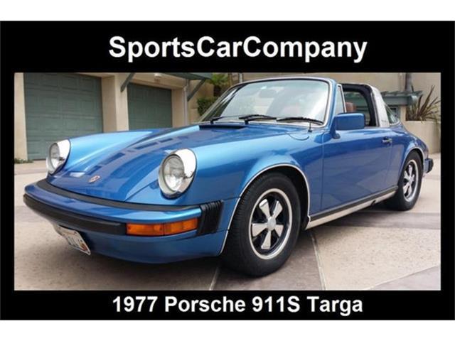 1977 Porsche 911S   870079