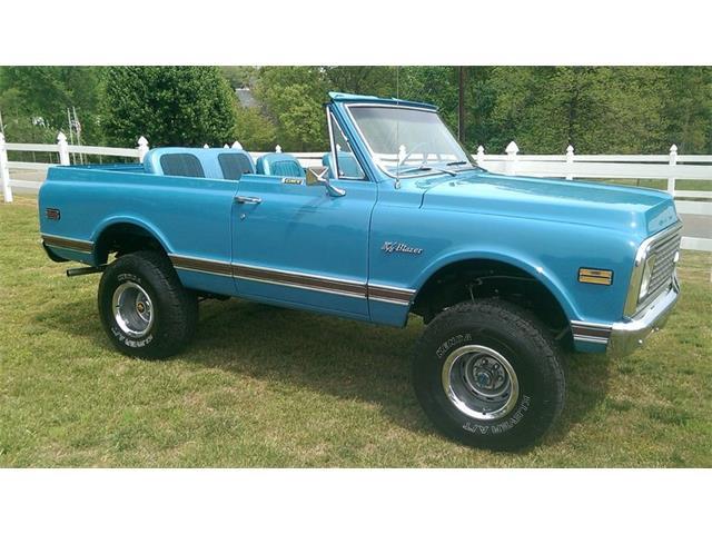 1972 Chevrolet Blazer   877910