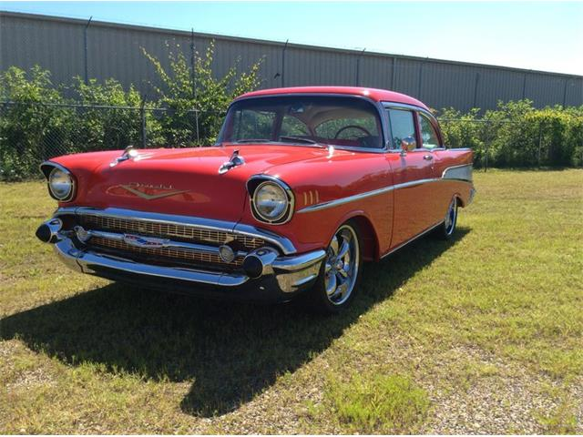 1957 Chevrolet Bel Air 2 DOOR POST | 878120