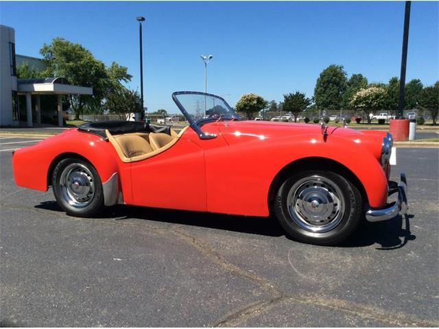 1954 Triumph TR2   878176