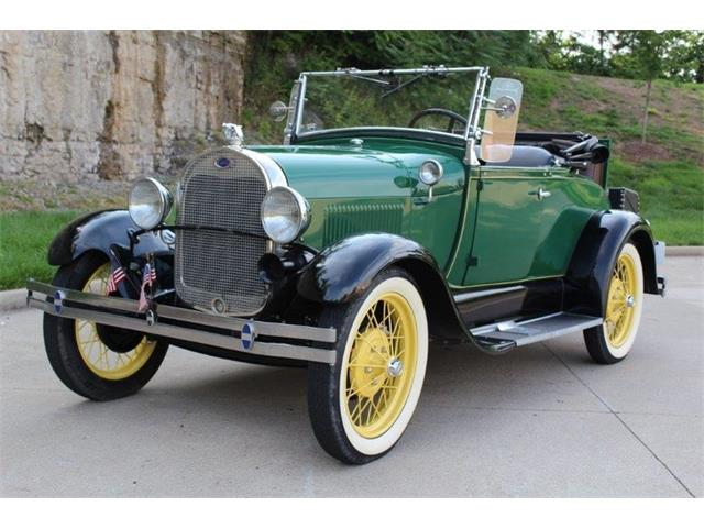 1929 Ford Model A Rumble Seat | 878553