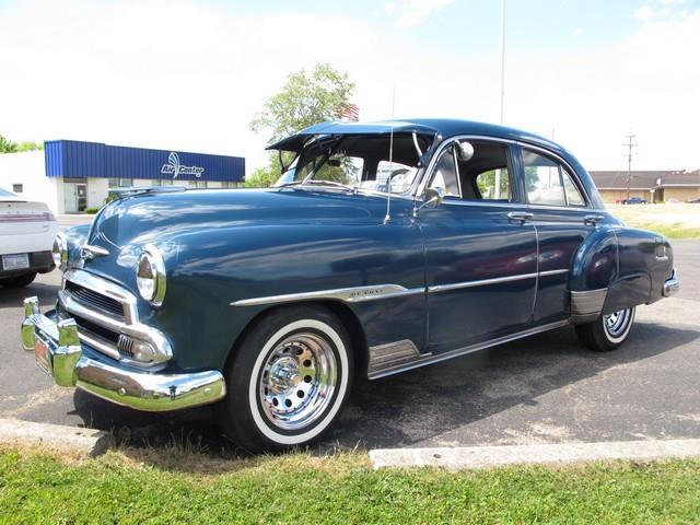 1950 to 1952 chevrolet deluxe for sale on for 1952 chevrolet styleline deluxe 4 door
