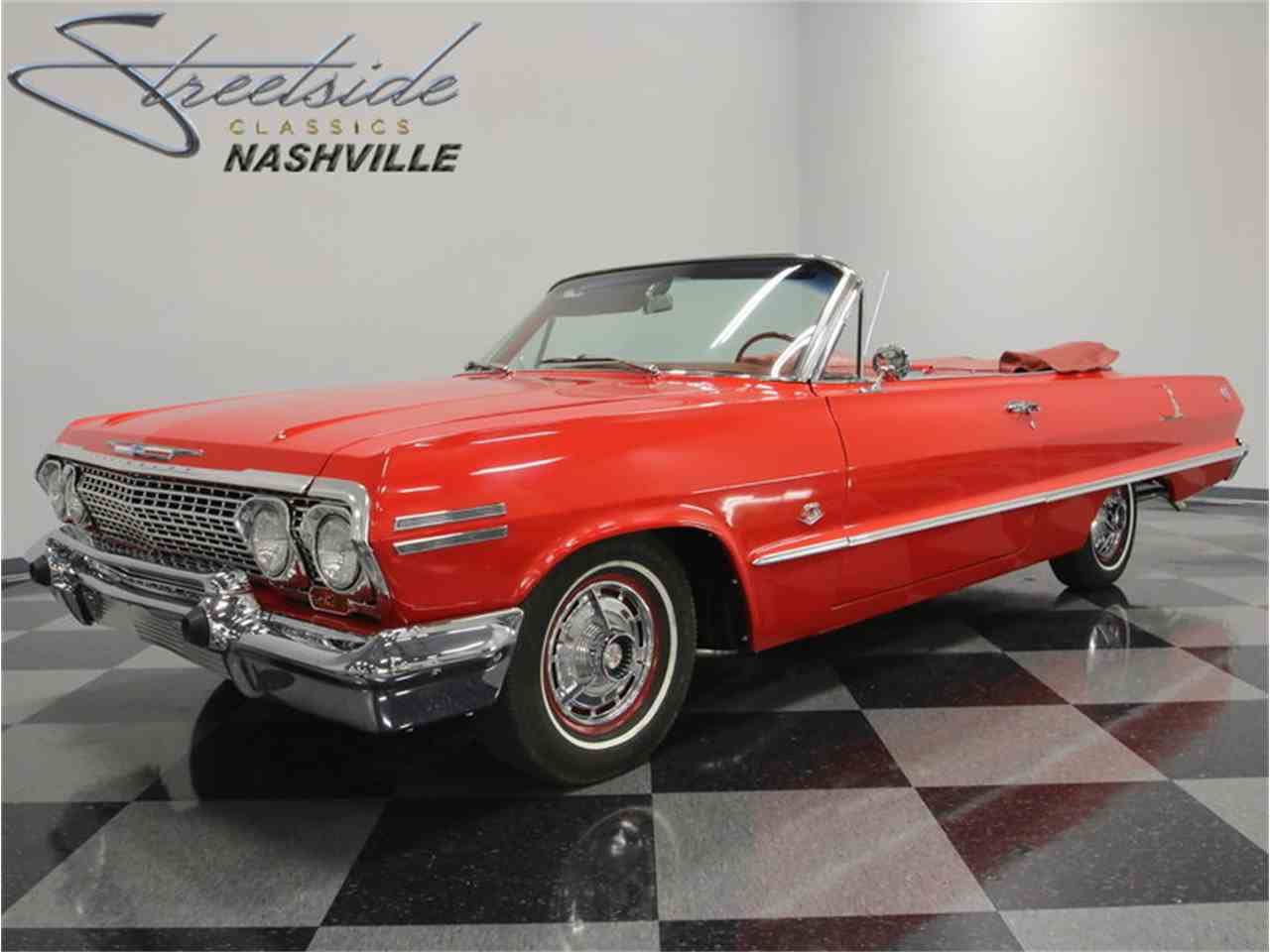 1963 chevrolet impala ss for sale cc 878773. Black Bedroom Furniture Sets. Home Design Ideas