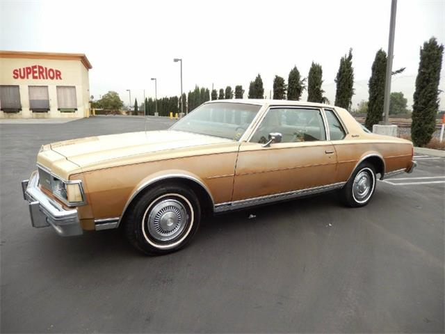1977 Chevrolet CAPRICE CLASSIC COUPE | 878908