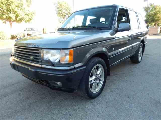 2001 Land Rover Range Rover | 878926