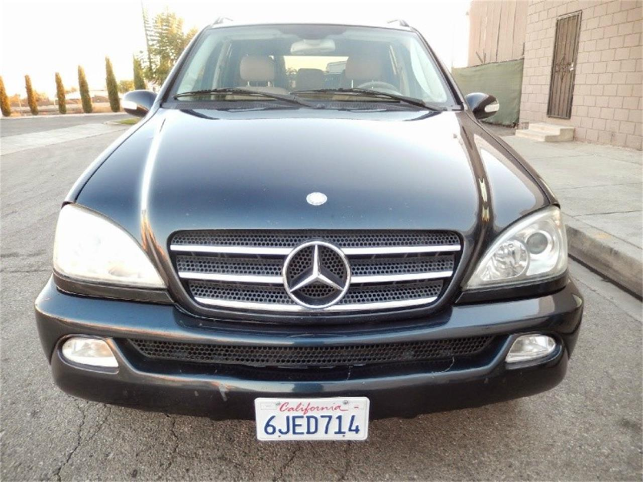 2002 mercedes benz ml 500 for sale cc for Mercedes benz ontario ca