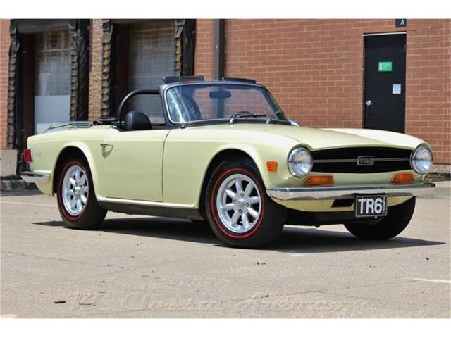 1970 Triumph TR-6 4spd | 870904