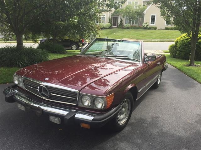 1985 Mercedes-Benz 380SL | 879297